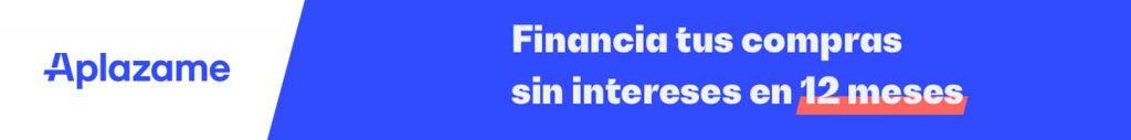 Financia sin interes con Aplazame